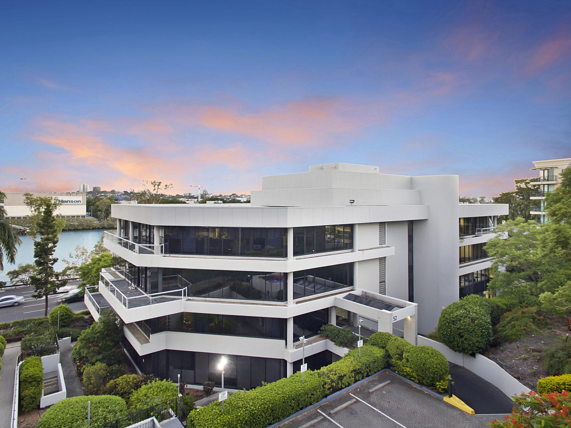 2 person Milton office with views + carpark - $1,455 p/m!