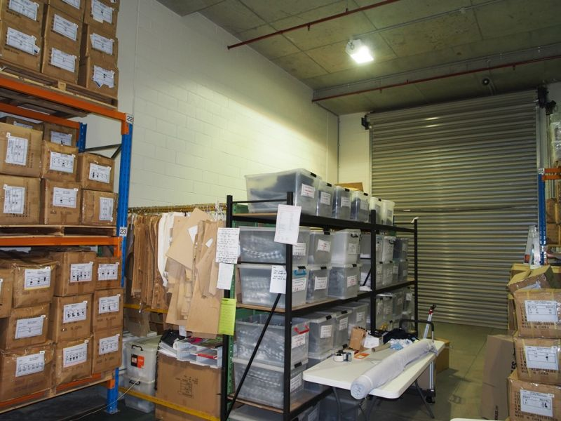 CLEARSPAN UNDERCOVER WAREHOUSE