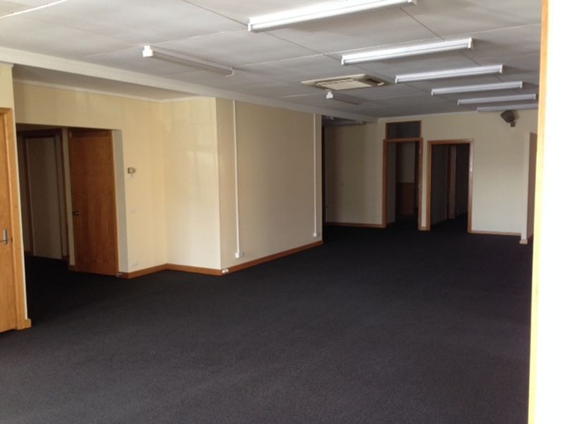 EXTENSIVE GROUND LEVEL OFFICES