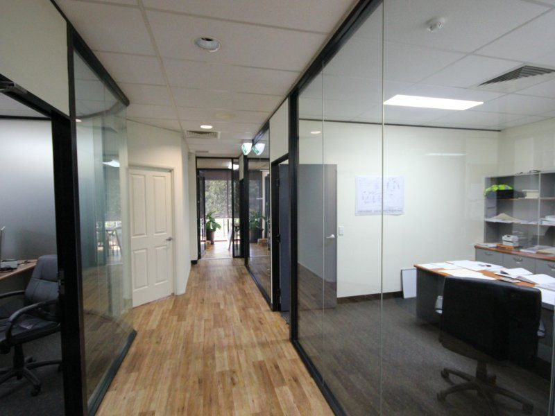 'A' Grade Office With Glass Partitions
