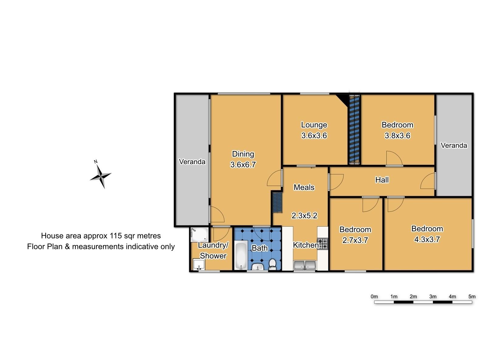 19 Sampson Street - Floor Plan