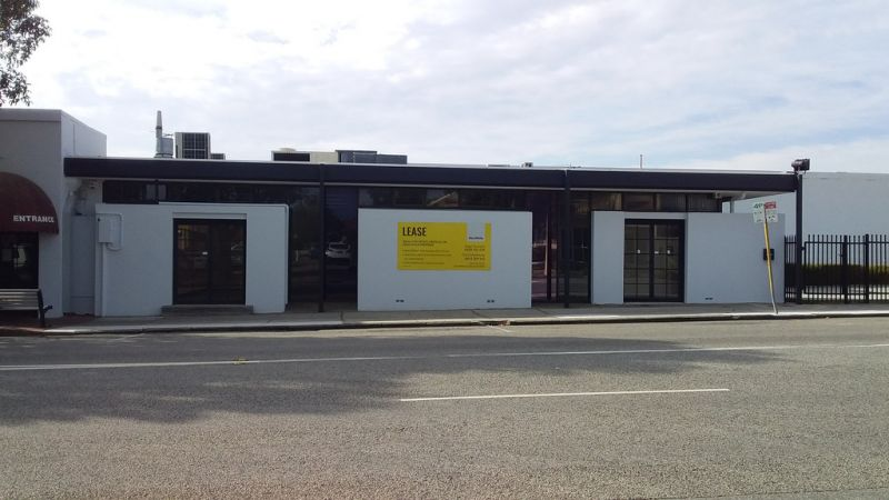 Refurbished office for lease - prominent corner location of Albany Highway & McMillan Street, Victoria Park