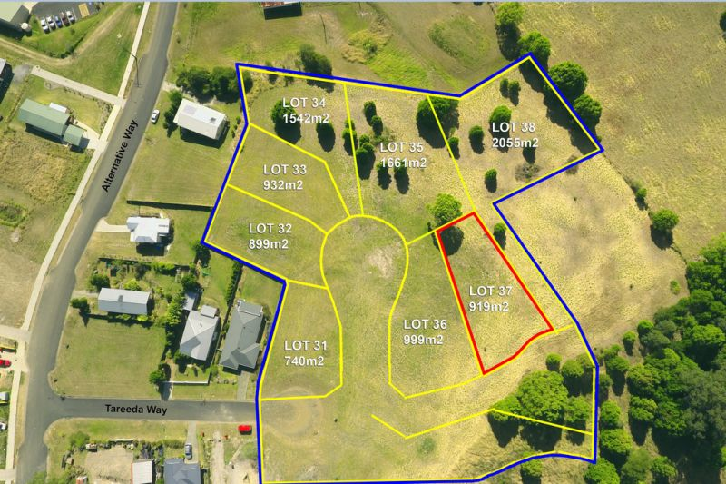 NEW LAND RELEASE - Lot 37