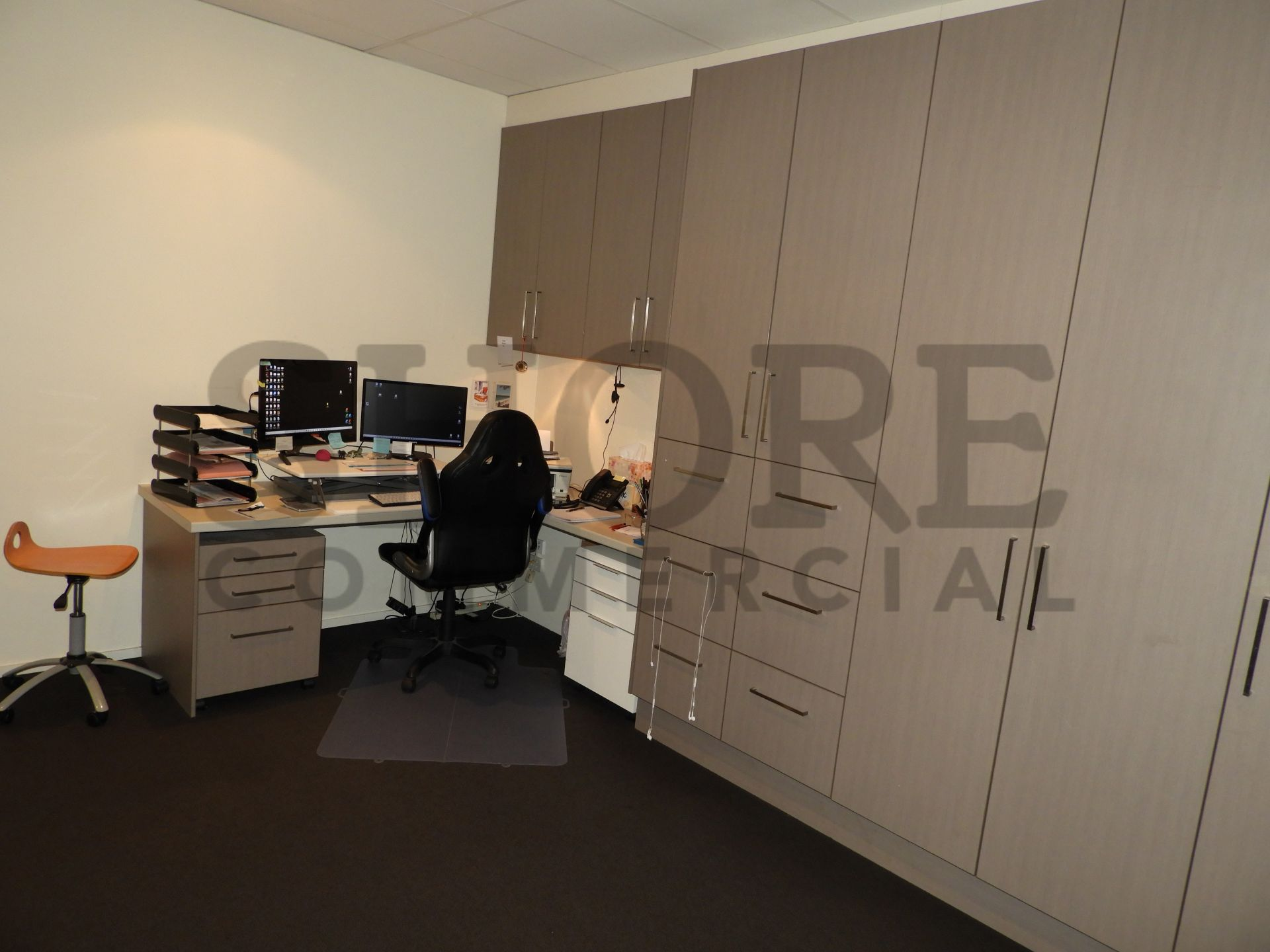 PROFESSIONAL OFFICE SUITE WITH EXCELLENT FIT-OUT