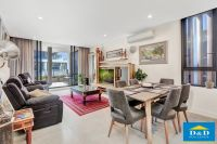 FURNISHED Near New Luxury Apartment. 2 Bedrooms. 2 Bathrooms. 2 Car Spaces. Riverfront Location. Walk To Parramatta