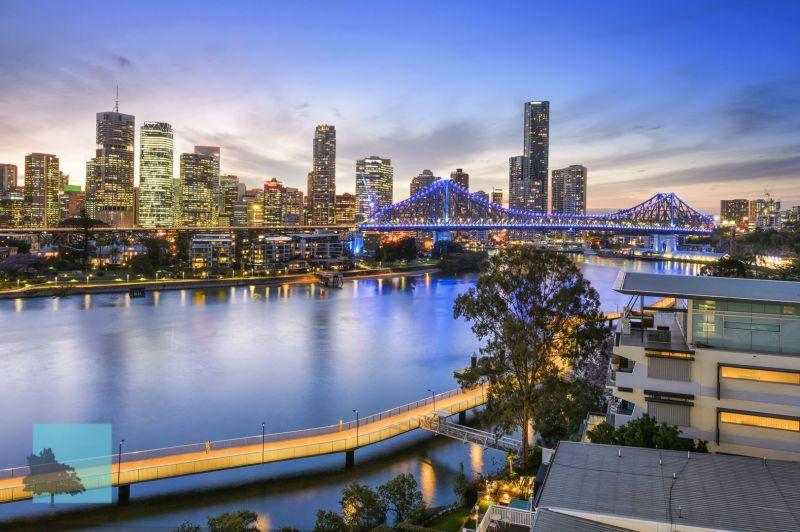 River & City Views. Brisbane Blue Chip Location!>