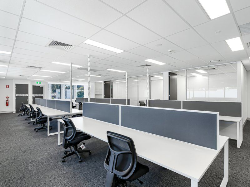 255sqm Brand New Fit Out & Furniture. Onsite Parking. Brisbane Technology Park
