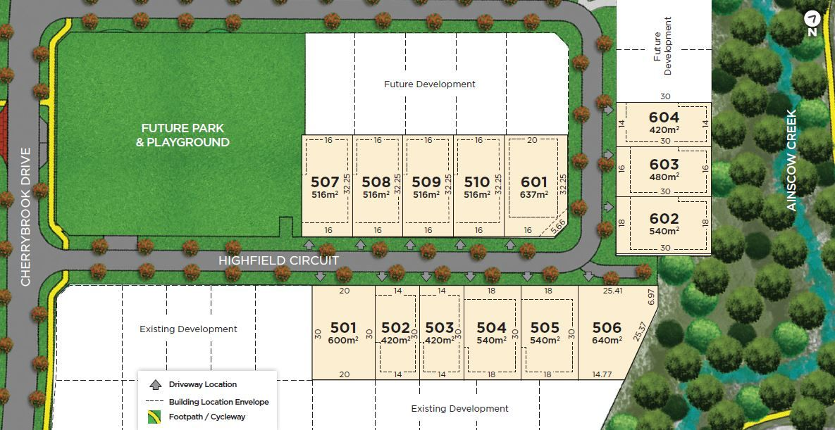 Lot 601 Highfield Circuit, Bentley Park QLD 4869