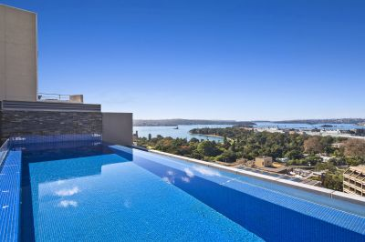 Dual Level Penthouse with Private Rooftop Pool