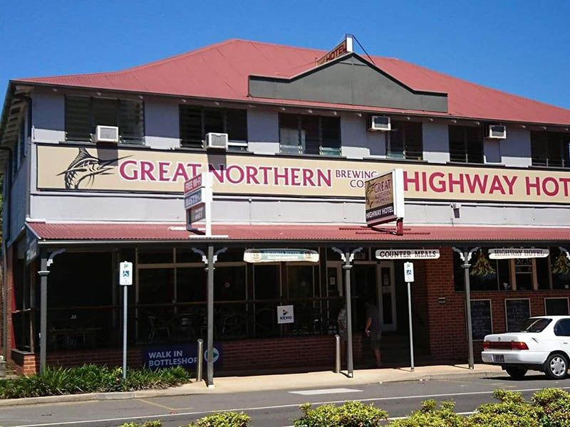 Highway Hotel Gin Gin Freehold Going Concern