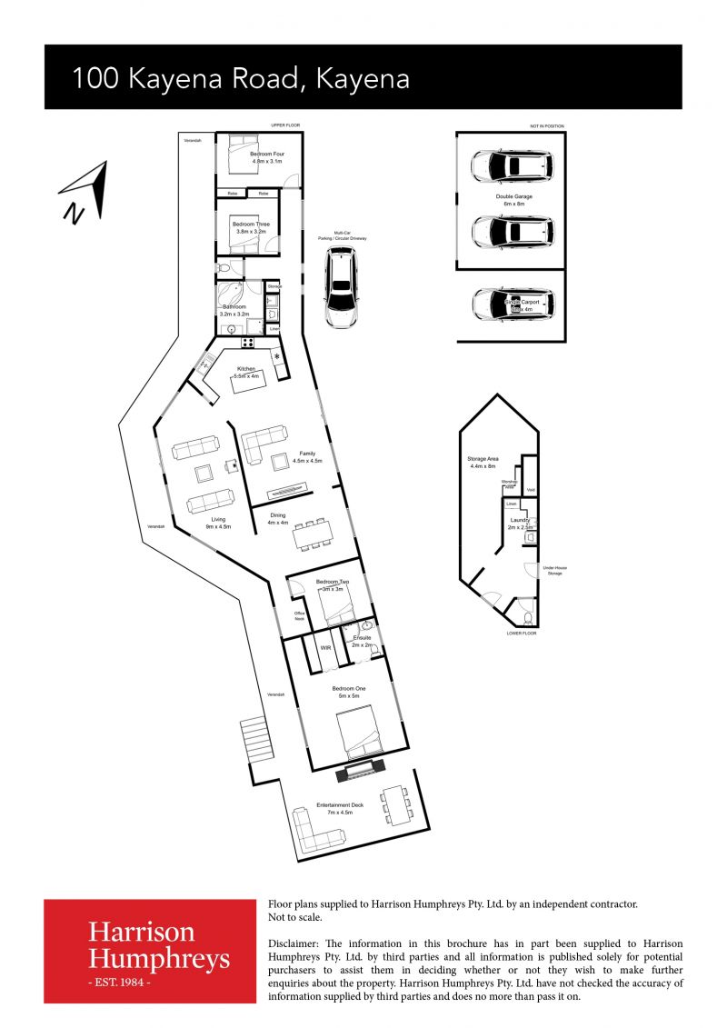 100 Kayena Road Floorplan