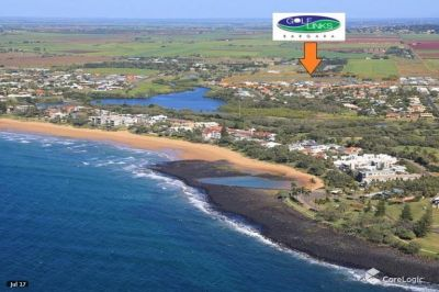 RESIDENTIAL 1,017m2 BLOCK AT THE BEACH!!