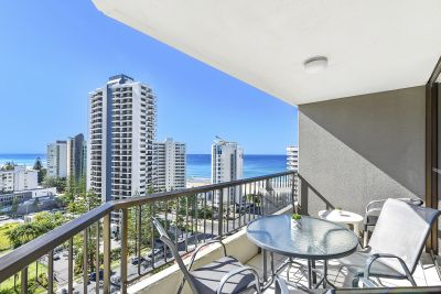 SUNNY NORTH ASPECT! OCEAN & CITY SKYLINE VIEWS FROM THE 14th FLOOR!