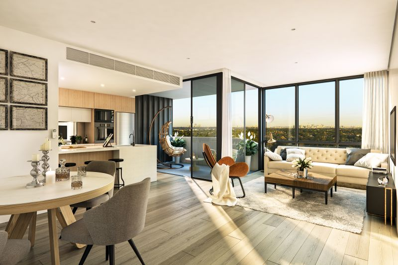 Only few 3 bedroom apartments remaining in Epping's Most Exclusive New Boutique Residential Tower - 'JARDINE'.