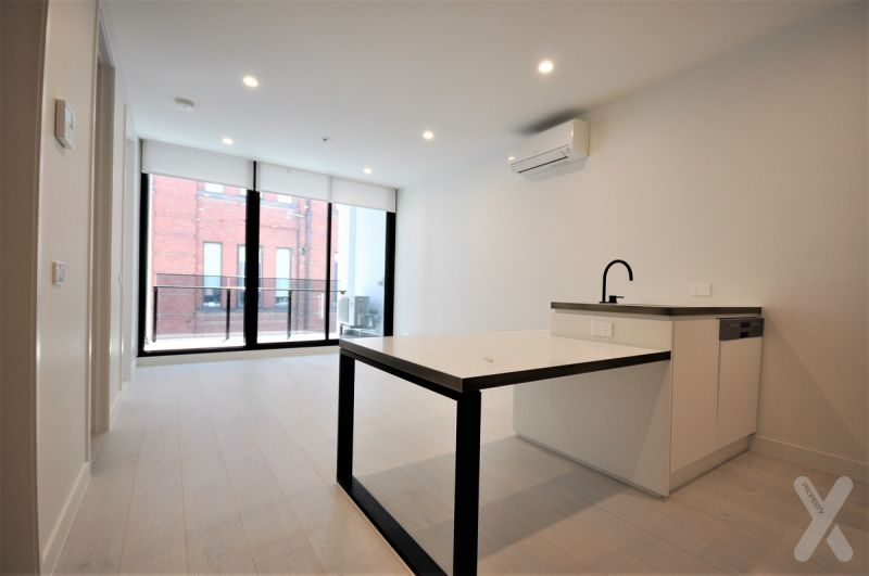 PRIVATE INSPECTION AVAILABLE – One bedroom apartment with a large study and perfect balcony!