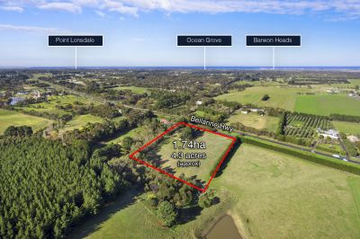Glengowrie  1.74ha 4.3 acres approx