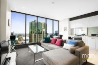Luxury light filled apartment with magnificent views high on the 32nd floor!
