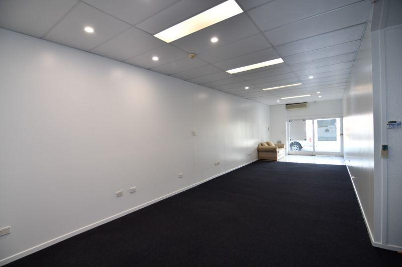Ground floor office with on-site car park
