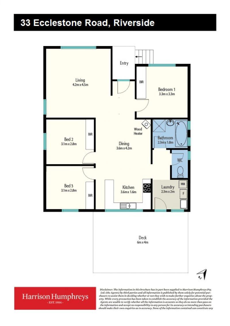 33 Ecclestone Road Floorplan