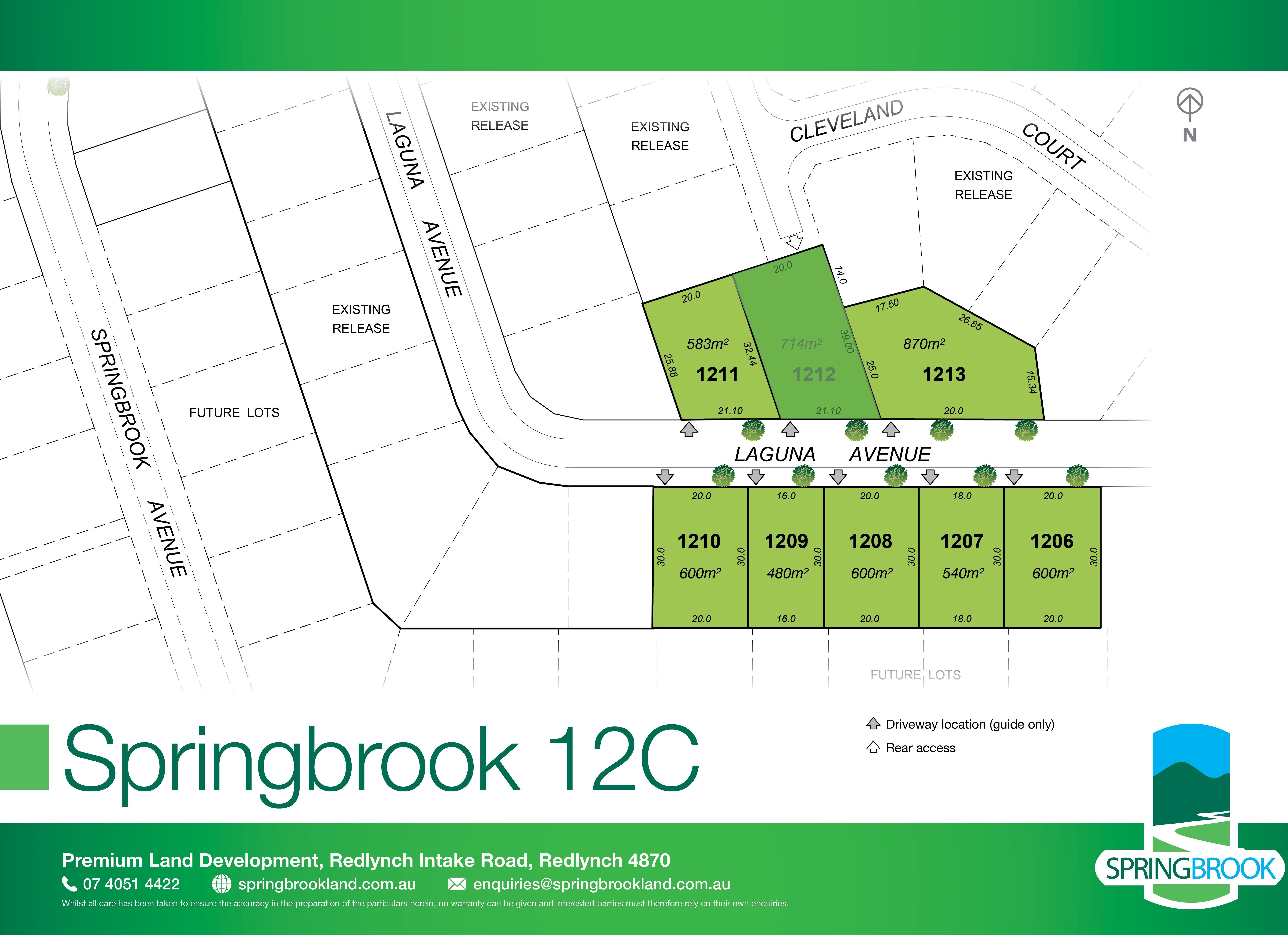 Lot 1212 Laguna Avenue, Redlynch QLD 4870
