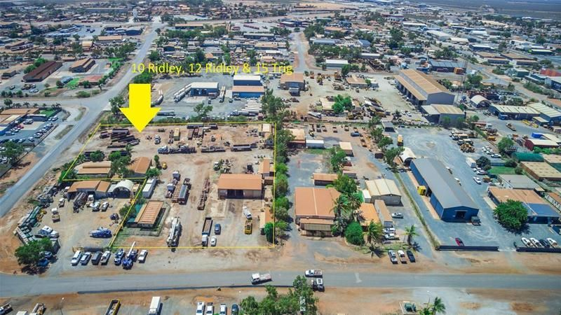 Exceptional opportunity - Industrial yard and accommodation
