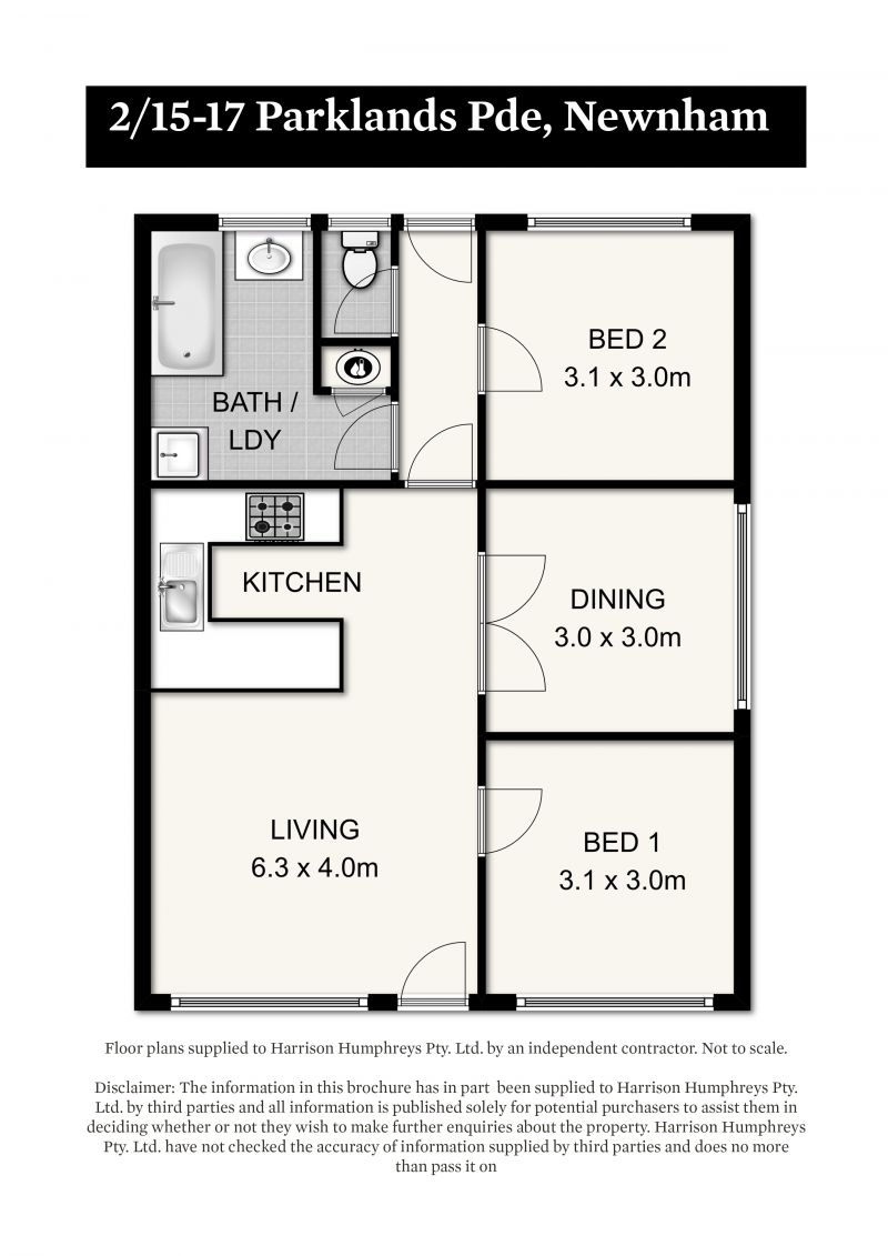 13-17 Parklands Parade Floorplan