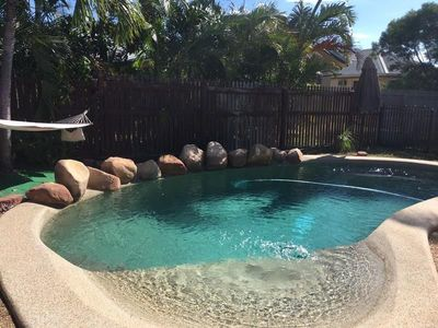 POOL + 4 Bed + 2 Living!