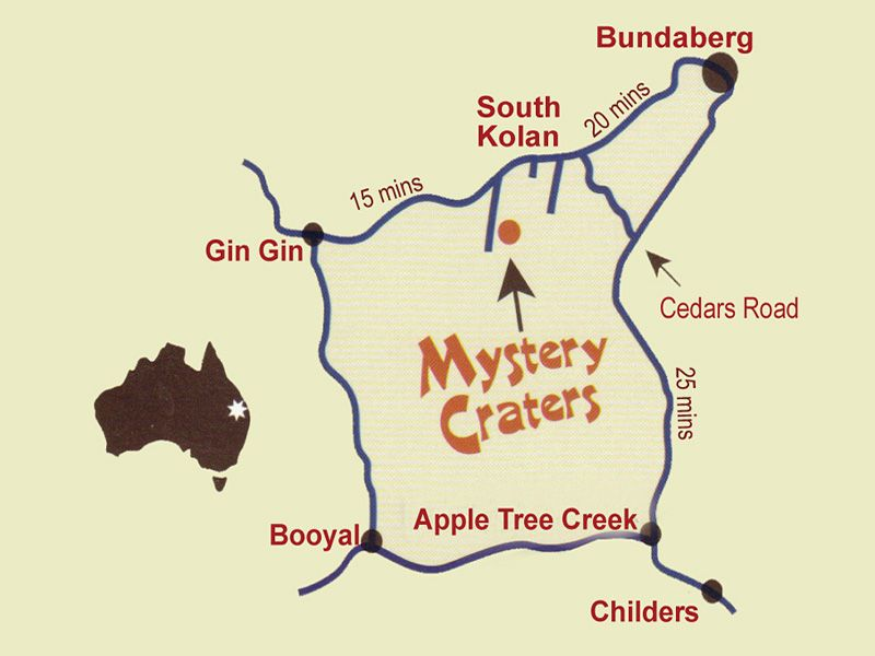 Mystery Craters Bundaberg