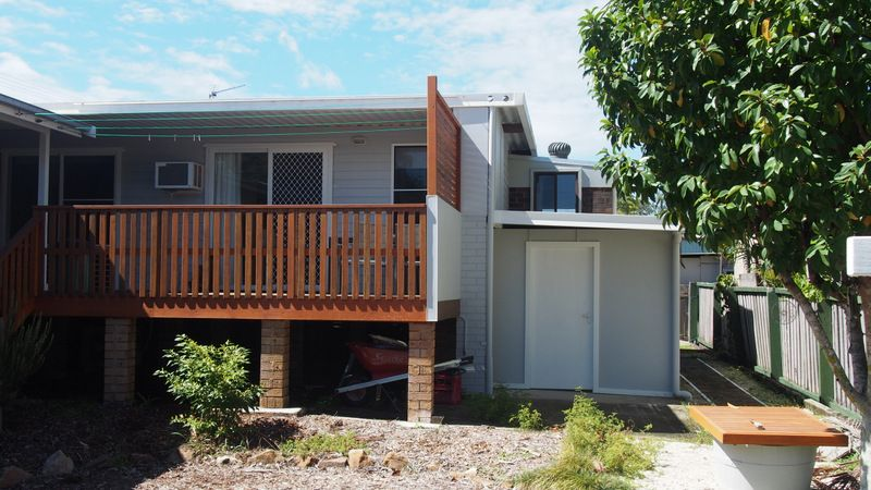 2 Bedroom Beach Retreate with-in walking distance of the Beach and the River mouth of the Kalang and Bellingen Rivers