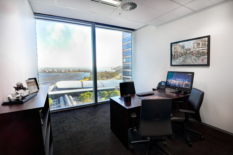 QUALITY OFFICE AVAILABLE IN PERTH MOST AWARDED COMMERCIAL BUILDING WITH CITY SKYLINE VIEW