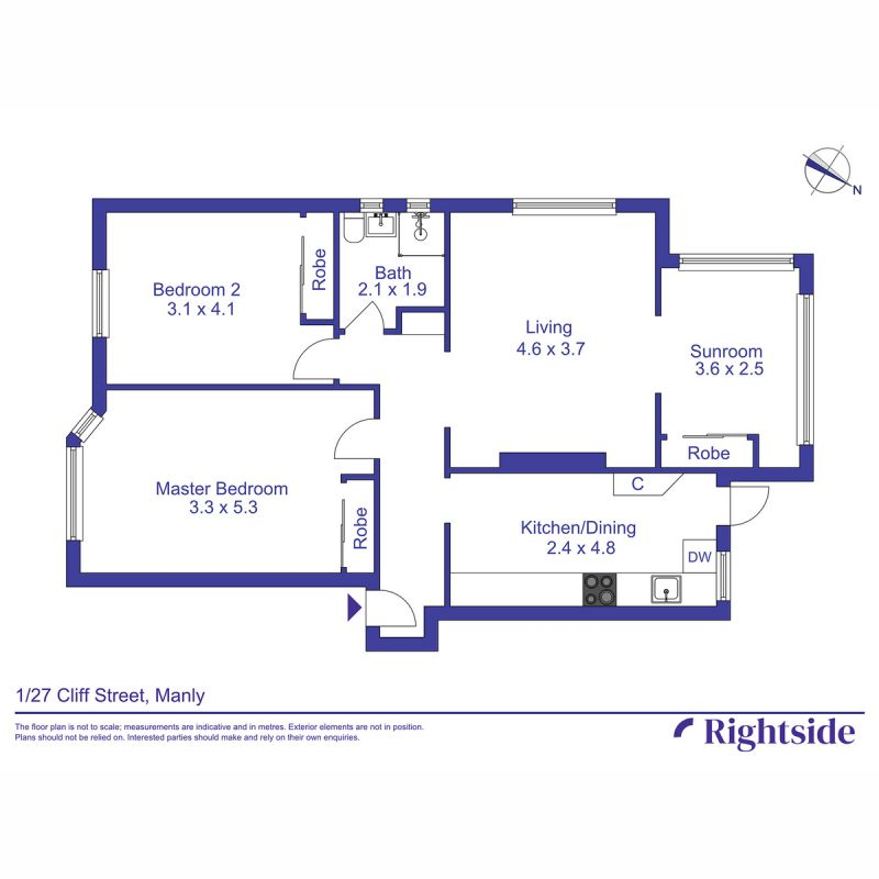 1/27 Cliff Street Manly 2095