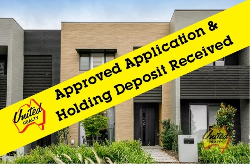 APPLICATION APPROVED! HOLDING DEPOSIT RECEIVED!