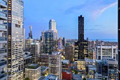 Sky-High, City Style with Sweeping City and Water Views