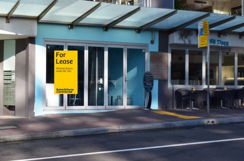 Prime retail opportunity at Bronte beach.