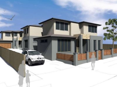 DA APPROVED FOR 3 EXECUTIVE TOWNHOUSES