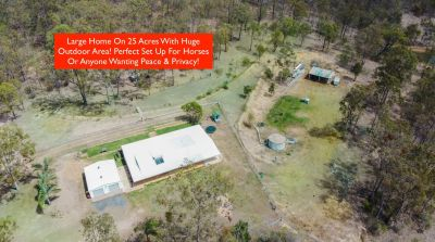 LARGE HOME ON 25 ACRES OF PEACE & PRIVACY! PERFECT FOR HORSES & IS WHEEL CHAIR FRIENDLY...