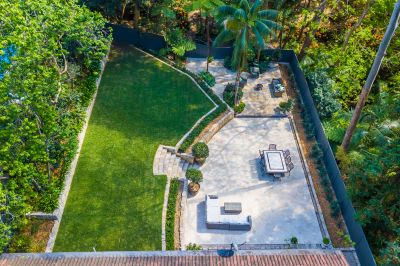 Peaceful reserve outlook and expansive landscaped gardens