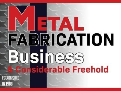 Metal Fabrication Business with Considerable Freehold Available