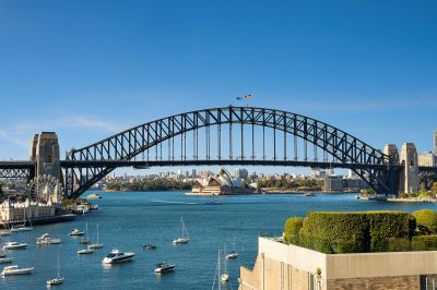 A rare property with iconic Sydney harbour views