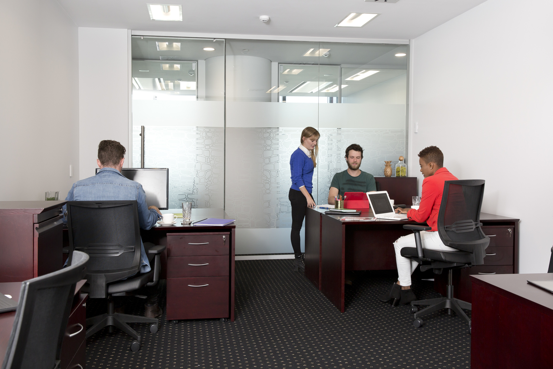 Impressive 1-person executive office overlooking the Adelaide Skyline