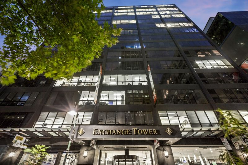 Set your business up for success by purchasing an office at Exchange Tower