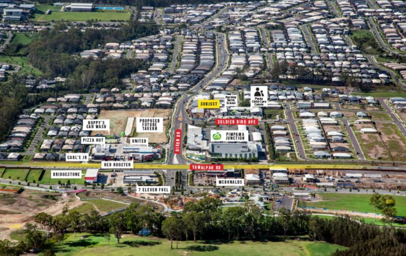 DIXON DRIVE, PIMPAMA - STRATEGICALLY LOCATED NEW RETAIL CENTRE FOR LEASE - NEARING COMPLETION