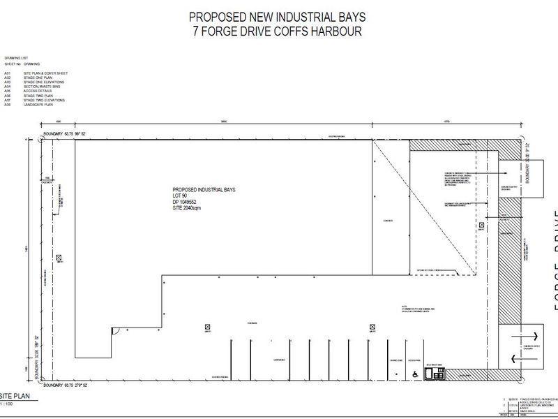 New Concrete Tilt Warehouse - 310m2