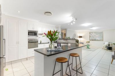 Immaculate Family Home with Pool on 709 m2 corner block with side street access for caravan.