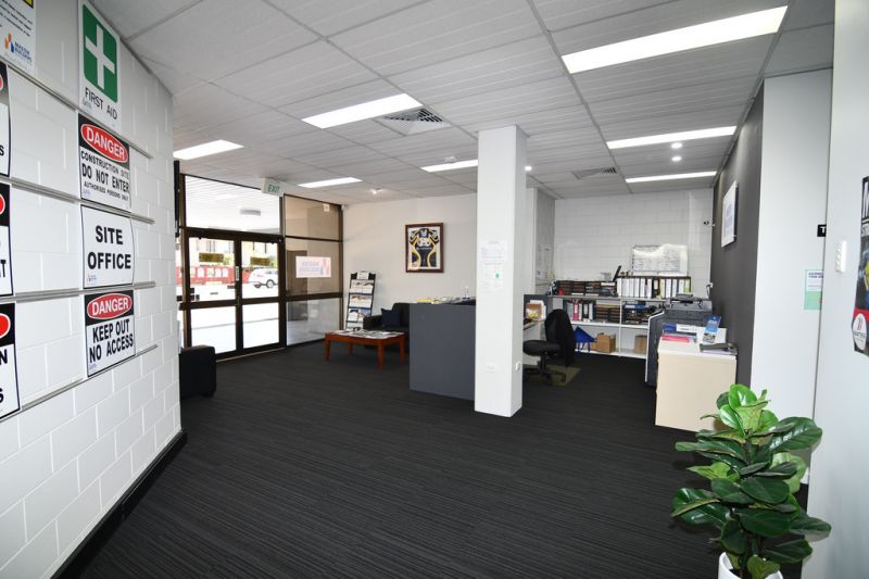 Ground floor tenancy with on-site parking