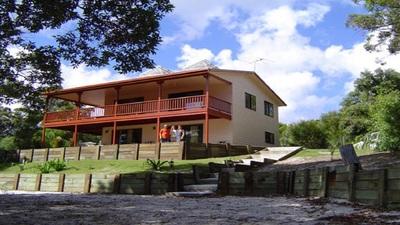 2 Houses plus Business on 1/2 an acre on Moreton Island Beachfront