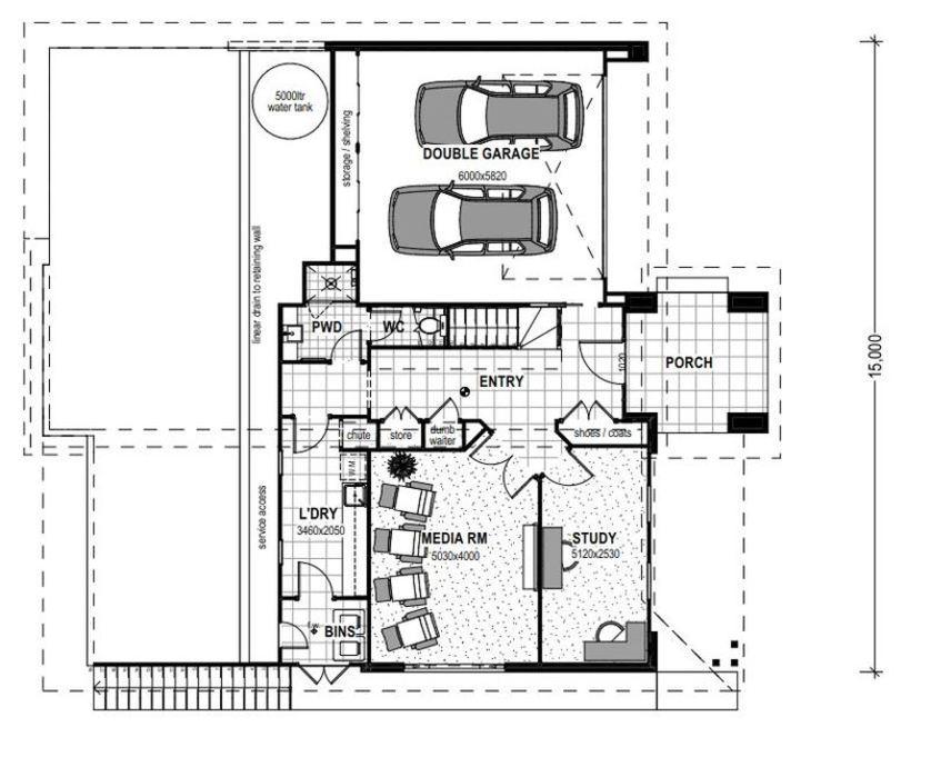 LOT 10 BARTLE FRERE CLOSE TERRANORA Floorplan