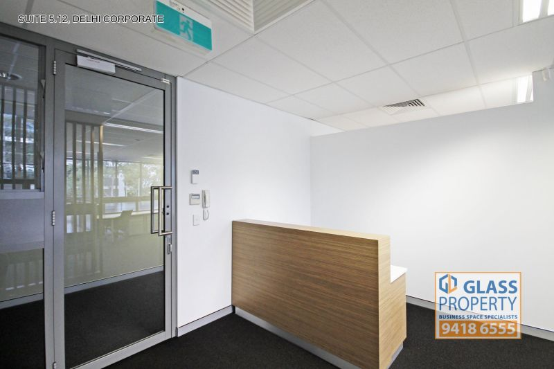 Top Floor Office Suite with Fitout & Balcony - 90m2