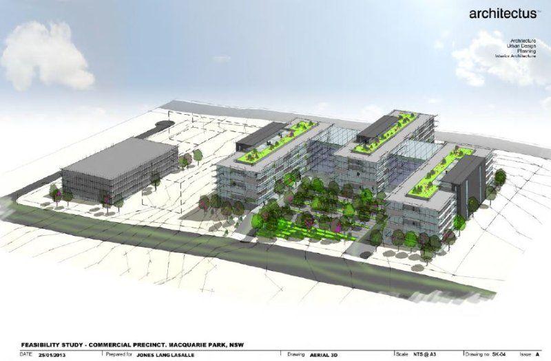 Business Park Development Site With Cashflow