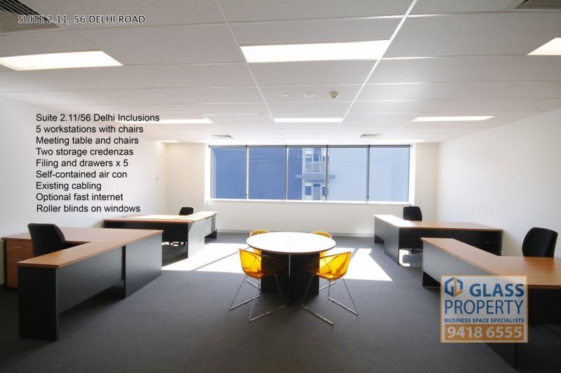High Quality Open Plan Office for Lease. 64m2